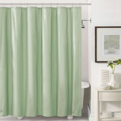 Mildew-Free Peva 6 Gauge Heavy Weight Shower Liner Color: Sage