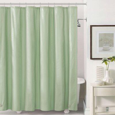 Mildew-Free Peva 6 Gauge Heavy Weight Shower Liner Color: Sage