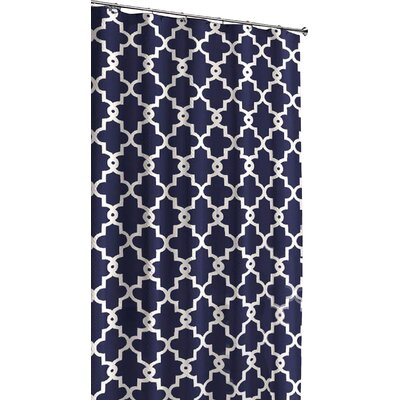 Shower Curtain Color: Navy