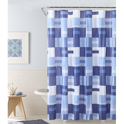 PEVA Shower Curtain Color: Blue