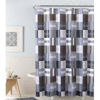 PEVA Shower Curtain Color: Black
