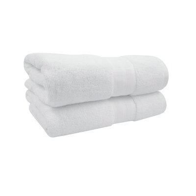 Spa Bath Towel Color: White