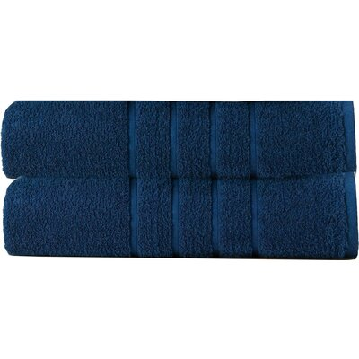 Cotton Spa Bath Towel Color: Blue