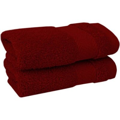 Spa Bath Towel Color: Red