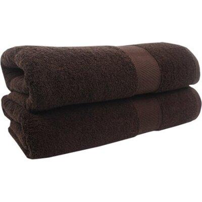 Spa Bath Towel Color: Chocolate