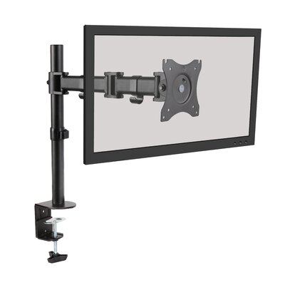 Steel LCD VESA Height Adjustable Universal Tilt Desk Mount