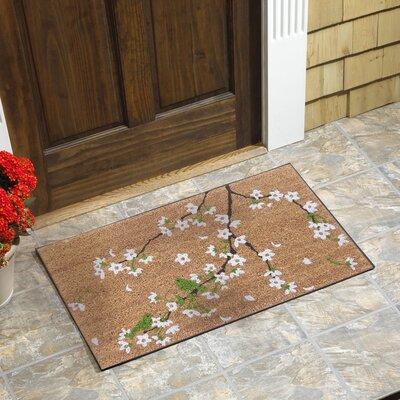 Sitka Cherry Blossom Coir Doormat
