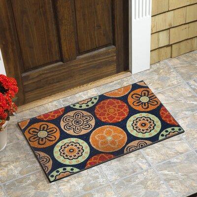 Silsden Medallion Coir Doormat