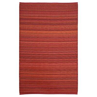 Caroline Red Area Rug Rug Size: 6 x 9