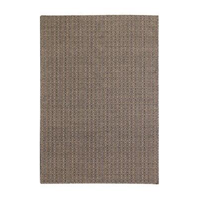 Pickering  Handmade Black/Beige Area Rug Rug Size: 5 x 76