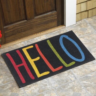 Carrow Hello Doormat