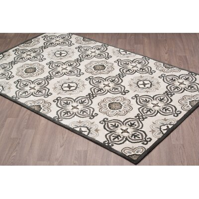 Jean-Gabriel Hand Tufted Wool Gray Area Rug