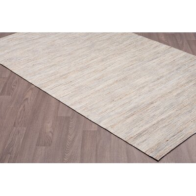Lockport Hand Woven Natural Gray Area Rug Rug Size: Rectangle 5 x 8