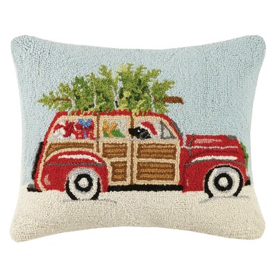 Station Wagon Wool Lumbar Pillow