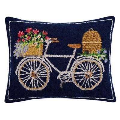 Maceus Bike Hook Wool Lumbar Pillow