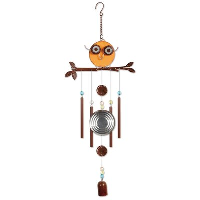 Owl Wind Chime ML016