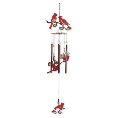 Cardinals Birds of a Feather Wind Chime 80427
