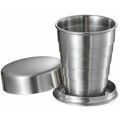 Scope Stainless Steel Folding 2 oz. Shot glass/Shooter VAC371
