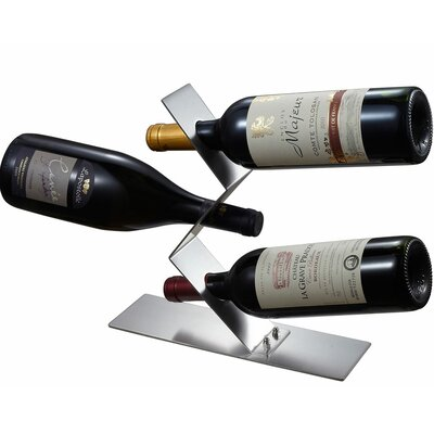 Chablis 3 Bottle Tabletop Wine Rack