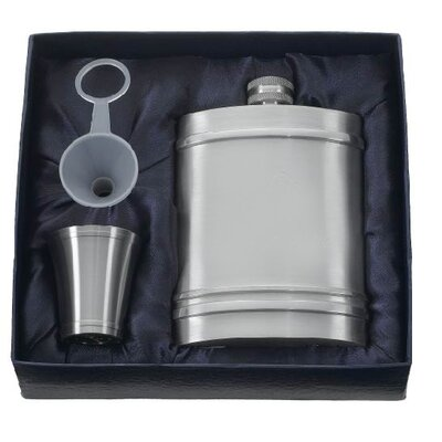 Arlington Hip Flask Gift Set VSET402