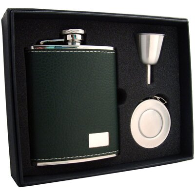 Leather Stellar Flask Gift Set VSET32-1282