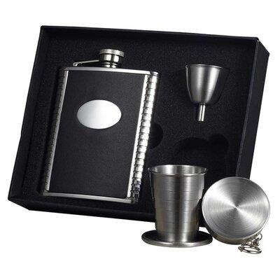 Tux Stellar Hip Flask Gift Set VSET32-1154
