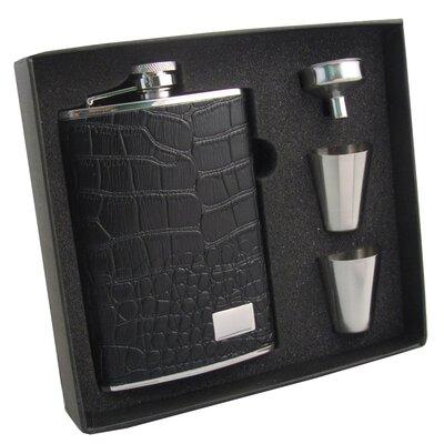 Gator Hip Flask Gift Set VSET5004B-1184