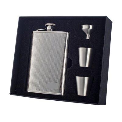 Pixel Stainless Steel Deluxe Flask Gift Set VSET38-1161