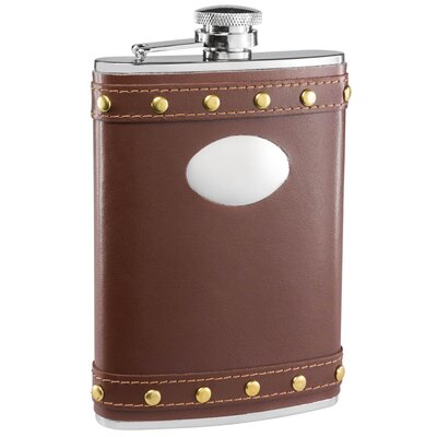 Rocker Leather Liquor Flask VF1334