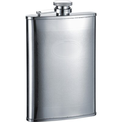 Mark Stainless Steel Hip Flask VF1267