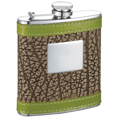 Grove Leather Hip Flask VF5045
