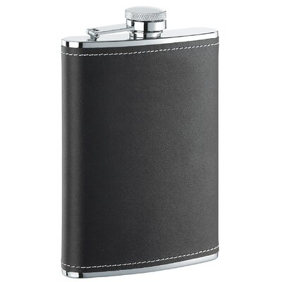 Leather Liquor Flask Finish: Eclipse Black VF1117NP