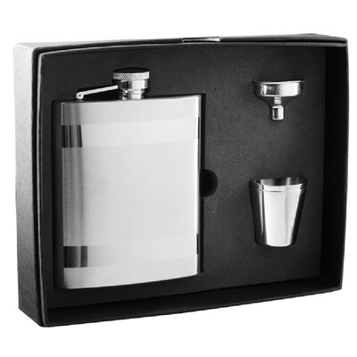 Dual Stripes on Flask Gift Set VSET21