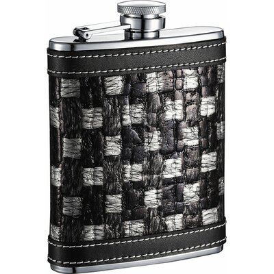 Thread Checker Stainless Steel Hip Flask VF2062