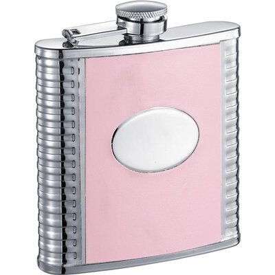 Leatherette Stainless Steel Hip Flask VF5027