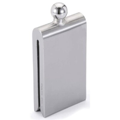 Magnet Contemporary Stainless Steel Hip Flask VF3002