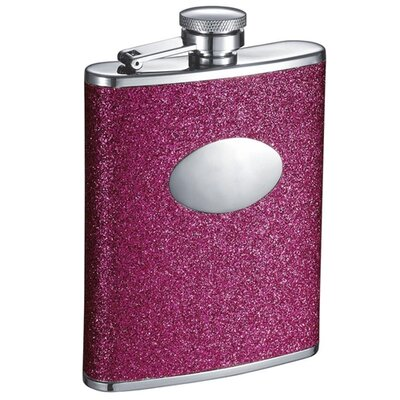 Ashlee Stainless Steel Hip Flask VF2083