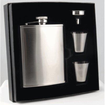 Edge Deluxe Hip Flask Gift Set VSET38-1133