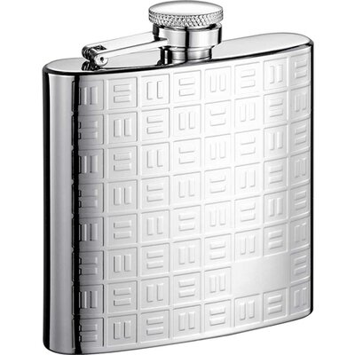 Domino Stainless Steel Hip Flask VF2020