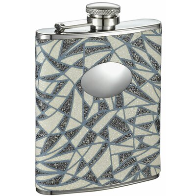 Dazzle Stainless Steel Hip Flask VF1323