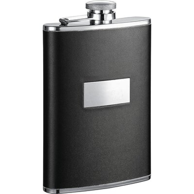 Leather Stainless Steel Hip Flask VF1272