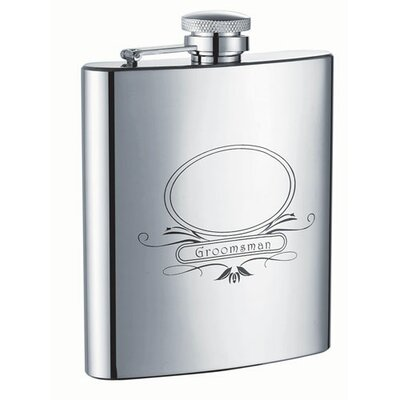 Groomsman Hip Flask VF1199