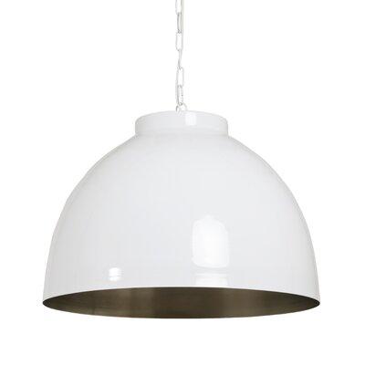Kylie 1-Light Bowl Pendant