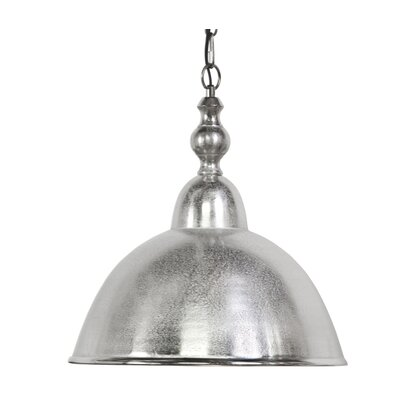 Amelia 1-Light Bowl Pendant