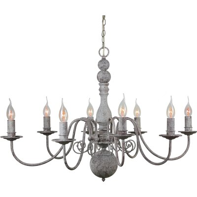 Christina 8-Light Candle-Style Chandelier