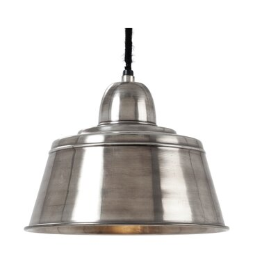 Antiek 1-Light Bowl Pendant
