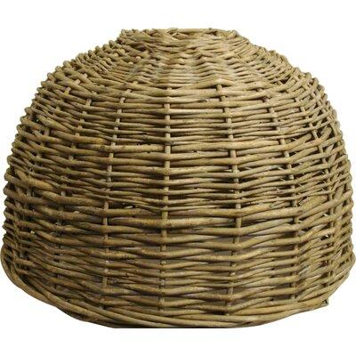 Rotan 15 Wooden Bowl Pendant Shade