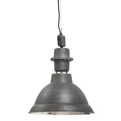 Lincoln 1-Light Pendant Finish: Matte Black
