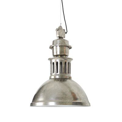 Jefferson 1-Light Pendant Finish: Brushed Antique Nickel
