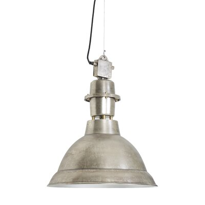 Lincoln 1-Light Pendant Finish: Brushed Antique Nickel